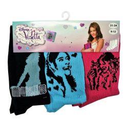 Disney Violetta Socks Size 31/34 - 3 pairs ED3266 Disney