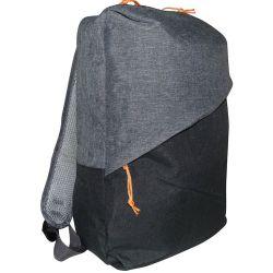 Zaino multifunzione imbottito nero-grigio MOB1000