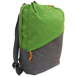 Green-gray multi-function padded backpack MOB1002