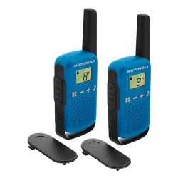 Motorola TALKABOUT T42 blau Radio PMR portatile Kit da 2 MOB824 Motorola