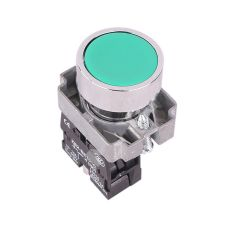 Pulsante da pannello 10A 600V - verde EL1220