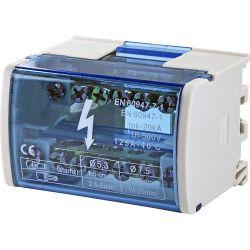 DIN - IPK 20KA equipotential terminal block EL201