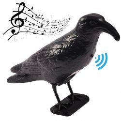 Crow deterrent for birds with motion sensor and Lifetime Garden sound ED5220
