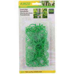 Kit 50 anelli da giardinaggio Kinzo Garden ED5232