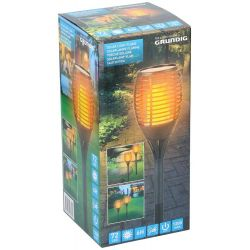 Grundig torch-effect solar LED lamp ED5266