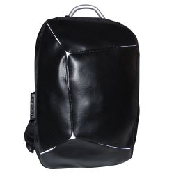 Padded multi-purpose backpack with black USB combination MOB1020