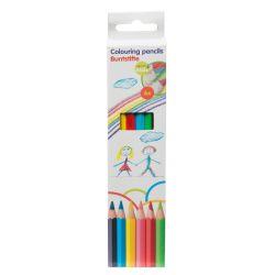 Matite colorate - Conf. 6 pezzi ED3348 Topwrite Kids