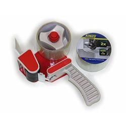 Adhesive tape dispenser + 2 rolls 15m Kinzo ED5534