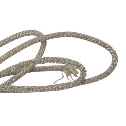 Twisted cable 18 wires silver color - 1 meter V2044