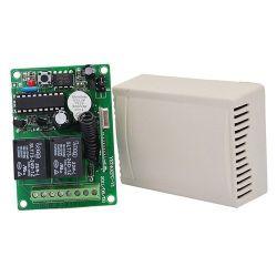 Centralina per comandi a distanza 2 canali 433 Mhz con 2 telecomandi Z307
