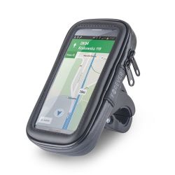 Smartphone holder for bicycle with Forever waterproof case MOB1206
