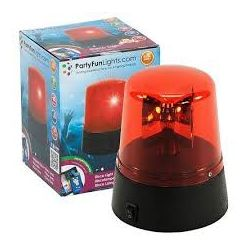 LED light effect siren Red Police Party Fun Lights ED284 Party Fun Lights