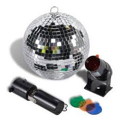 Party Fun Lights rotating ball and spotlight ED204 Party Fun Lights