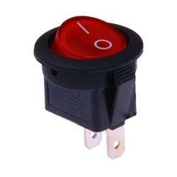 Interruttore unipolare  a bilanciere - Rosso N484