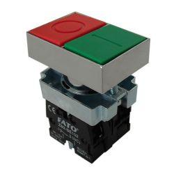 Panel button 10A 600V - 1/0 EL1365