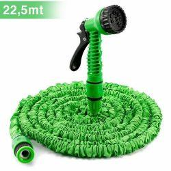 7.5-22.5m extendable garden hose with 7 functions Kinzo Garden gun ED2061