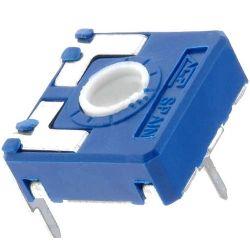 Trimmer orrizzontale 220 Kohm PT15 - confezione 5 pezzi NOS100977