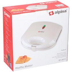 Piastra waffle 750W Alpina ED1141 Alpina