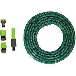 Set tubo irrigazione 15m con connettori Kinzo ED6048