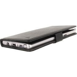 Telefono Custodia a Portafoglio in Silicone Classica Samsung Galaxy Note 8 Nero ND2335 Mobilize