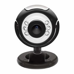 Webcam 2MP con microfono e LED USB 30FPS PC Plug&Play Smart Working Webinar A9128