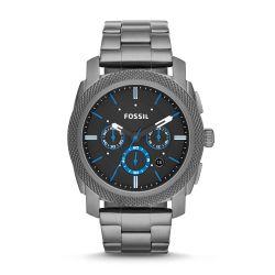 Orologio Fossil Machine FS4931 Cronografo da Uomo Grigio ED5043