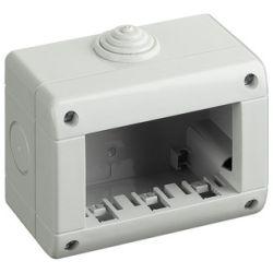 Box 3 moduli 10x8cm Bianco compatibile Vimar EL2008
