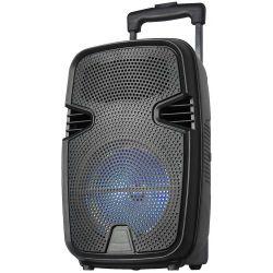 "Cassa acustica portatile trolley 8"" Batteria Luce LED Bluetooth SD/USB/Radio KOLAV-F16 KOLAV-F16"