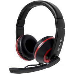 Cuffie gaming con microfono Tucci X5 - Nero e rosso MOB1106