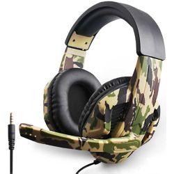 Cuffie gaming con microfono Tucci A1 ARMY - Camouflage MOB1261