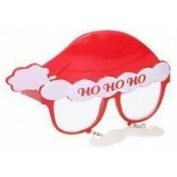 "Occhiali travestimento natalizio ""HoHoHo"" Christmas Gifts ED5468"