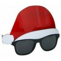 Occhiali travestimento natalizio Babbo Natale Christmas Gifts ED5477