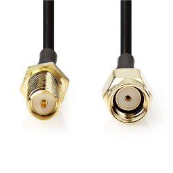 Antenna cable SMA male (reverse polarity) -SMA female (reverse polarity) 3m ND4024