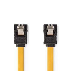 Data cable SATA 6 Gb / s SATA 7 pin female with lock-SATA 7 pin female with lock 0.5m ND4422