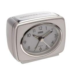Orologio Sveglia Analogico Argento ND4486