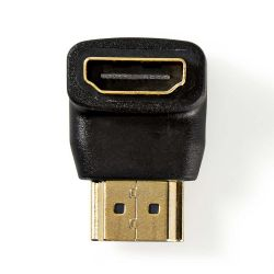 HDMI adapter HDMI-HDMI female connector With 90 ° angle ND4598