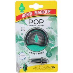 Deodorante Pop per auto Green Mint Fissaggio bocchette aerazione Arbre Magique ED9172