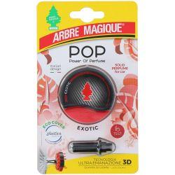 Deodorante Pop per auto Exotic Fissaggio bocchette aerazione Arbre Magique ED5351
