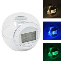 Orologio Digitale con Luce LED Meteo e Temperatura ED9170
