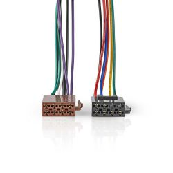 ISO Standard cable Radio connector-2x Car connector 0.15m ND5404