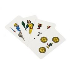 Carte da gioco siciliane plastificate duplex WB312