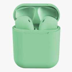 Cuffie wireless inPods 12 SIMPLE Bluetooth 5.0 con microfono verde WB334