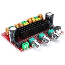 Modulo amplificatore 2.1 2x80W + 100W - 24V WB452