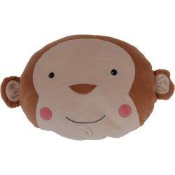 Cuscino peluche 30x30cm scimmia KP3938