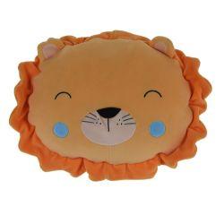 Cuscino peluche 30x30cm leone KP3940