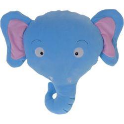 Cuscino peluche 30x30cm elefante KP3946