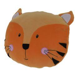 Cuscino peluche 30x30cm tigre KP3948