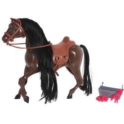 Set da gioco cavallo e mangiatoia 28 cm KP3966