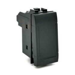 Unipolar diverter 16A-250V black compatible Living International EL2320