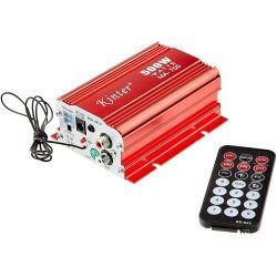 Amplificatore audio stereo 2 canali 12V USB/FM/AUX WB226